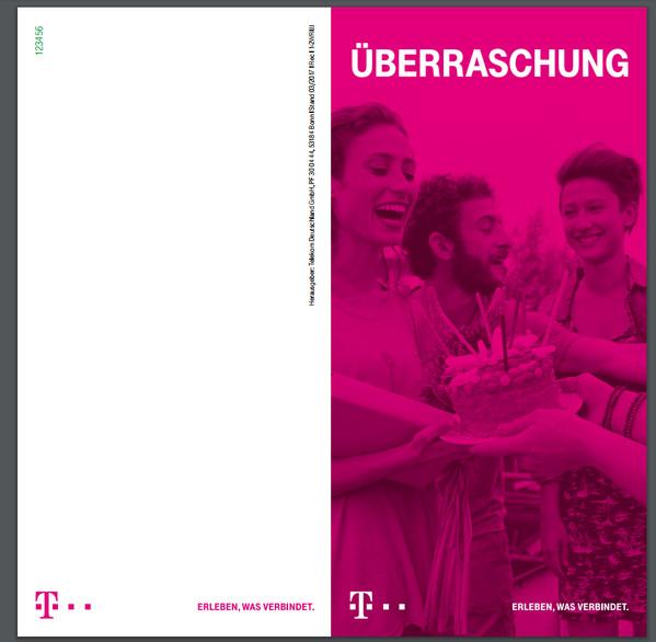 Telekom Geburtstagsgeschenk  Gelöst Geburtstagsgeschenk Persönlicher Geschenk code