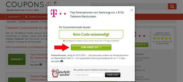 Telekom Geburtstagsgeschenk Einlösen  Telekom Gutschein 10€ Rabatt im Jan 2019