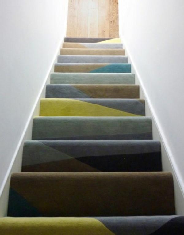 Teppich Für Treppen  Teppich für Treppen fantastische Vorschläge