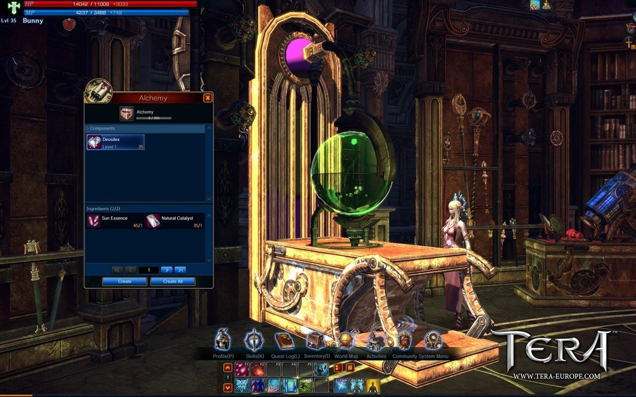Tera Handwerk  TERA Details und Screenshots zum Handwerk GameStar