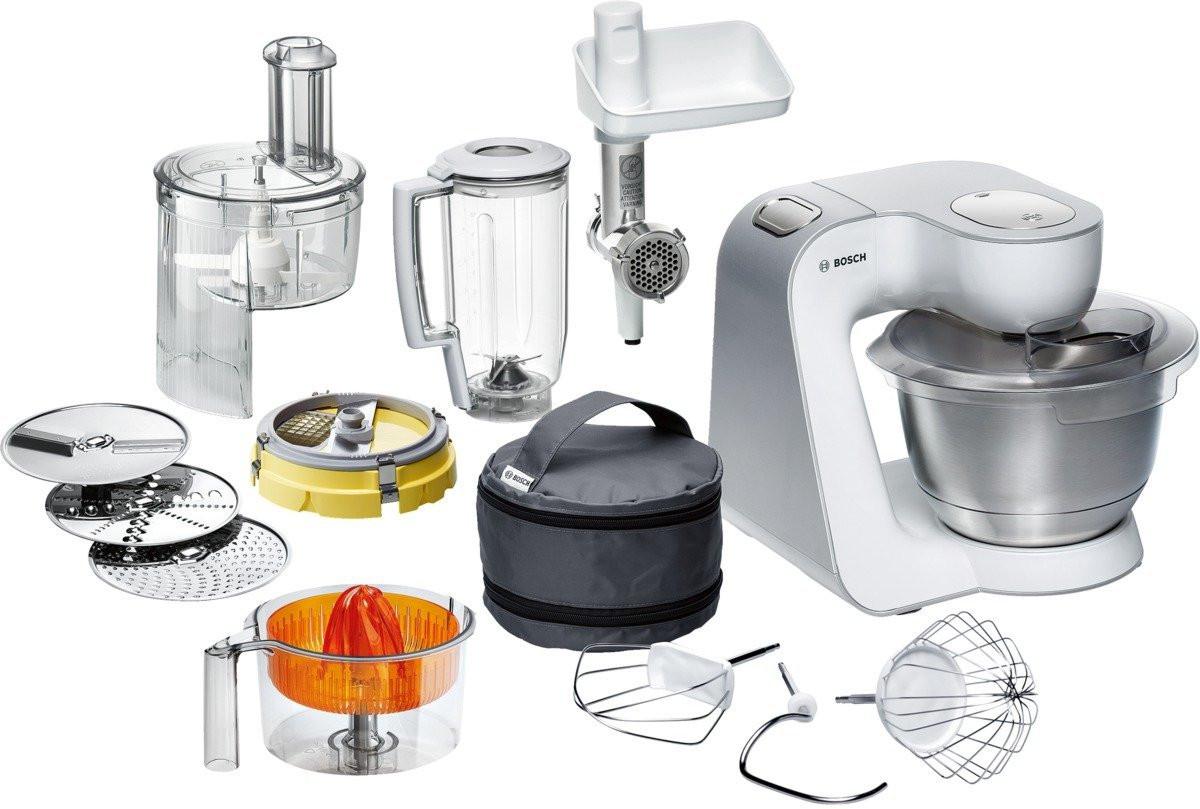 Test Küchenmaschinen  Die Bosch MUM Küchenmaschine im Test Unterschiede
