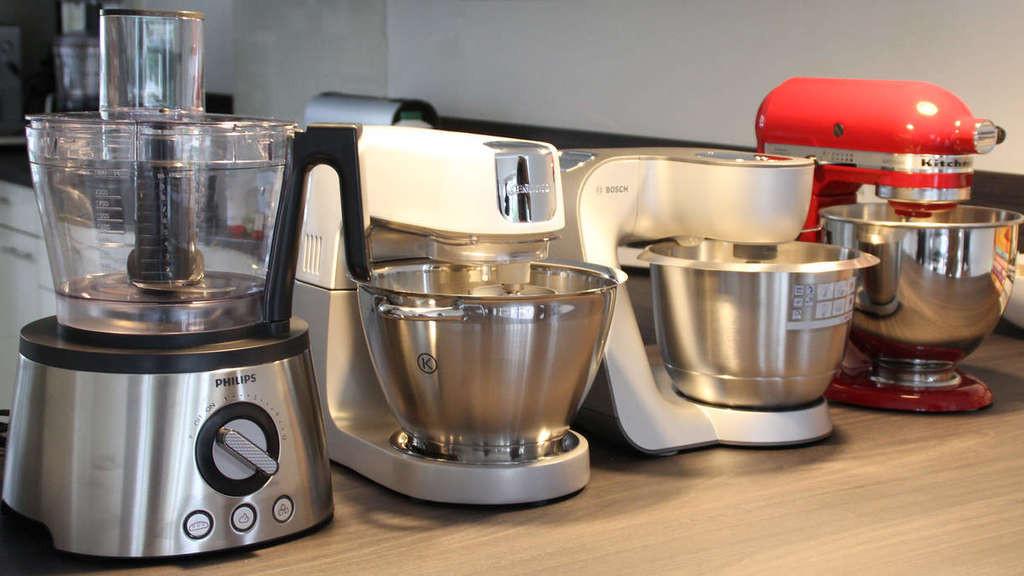 Test Küchenmaschinen  Küchenmaschinen im Test