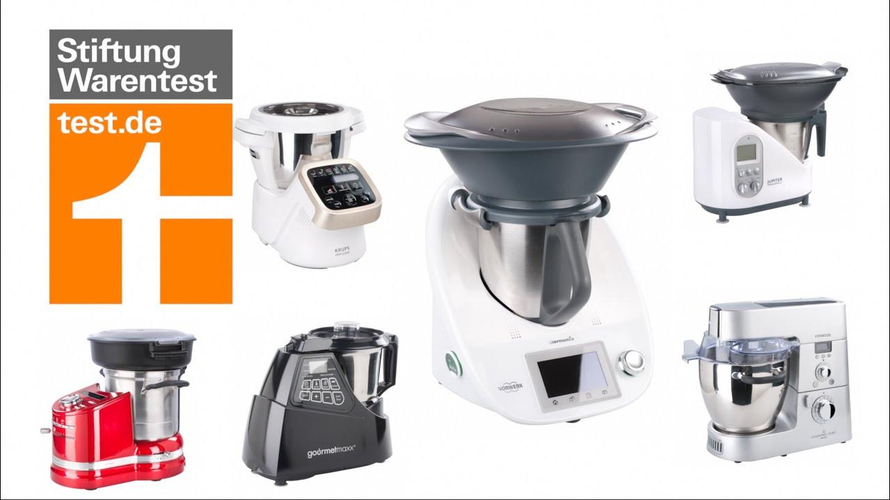 Test Küchenmaschinen  Test Küchenmaschinen Thermomix & Co Tops und Flops im