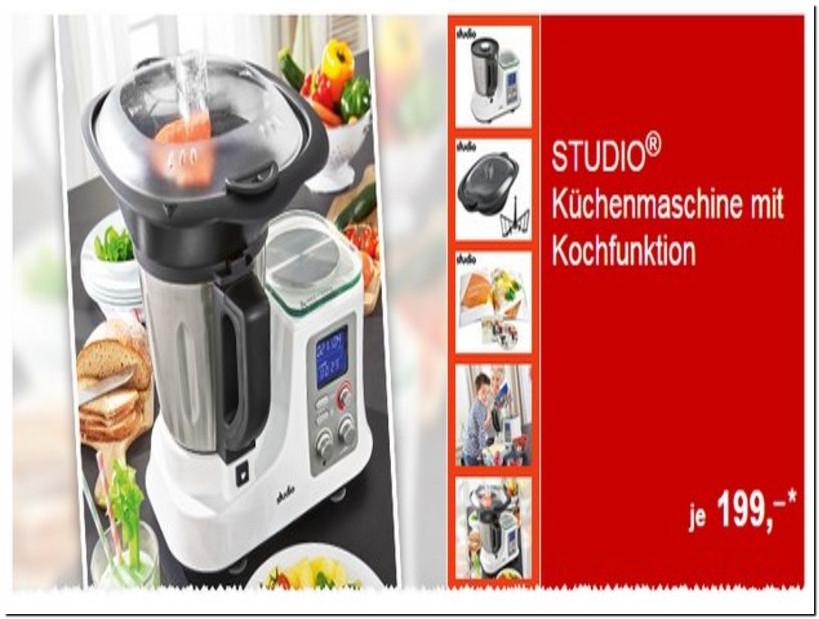 Test Küchenmaschinen  Test Küchenmaschinen Mit Kochfunktion 2015