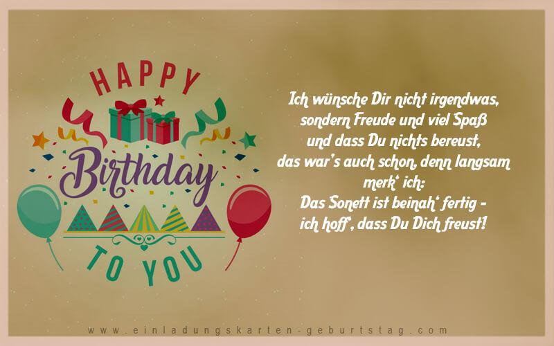 Texte Für Geburtstagskarten  Geburtstagswünsche Für Frauen