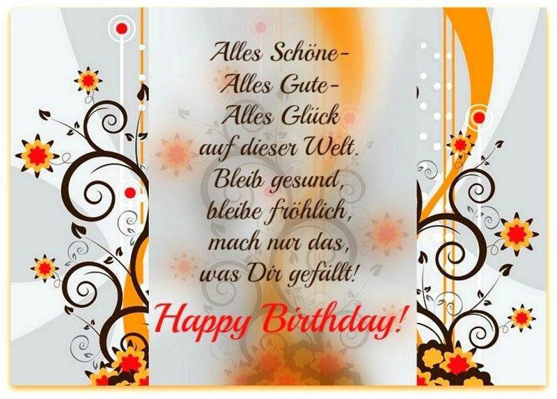 Texte Für Geburtstagskarten  Die besten Glückwünsche Sprüche und Zitate zum Geburtstag