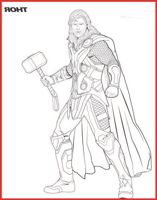 Thor Ausmalbilder  Ausmalbilder Superhelden Thor Rooms Project Rooms Project