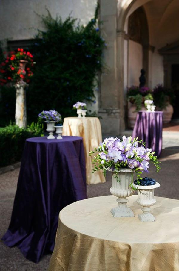 Tischdeko Geburtstag Blumen  Blumen Tischdeko entdecken Sie Freesien als eine