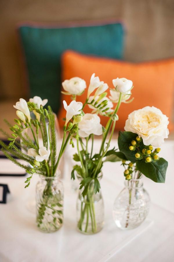 Tischdeko Geburtstag Blumen  Tischdeko mit Blumen 35 super Ideen Archzine