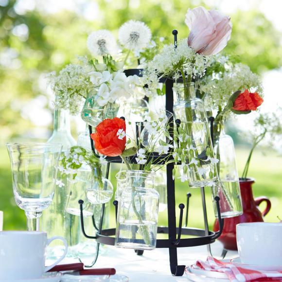 Tischdeko Geburtstag Blumen  Tischdeko mit Blumen Frische & farbenprächtige Deko