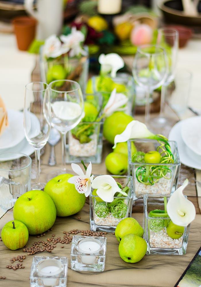 Tischdeko Geburtstag Blumen  Ausgefallene Tischdeko