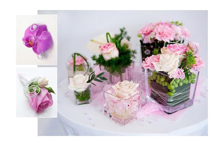 Tischdeko Geburtstag Blumen  Tischdeko mit Blumen im Glas kommunion