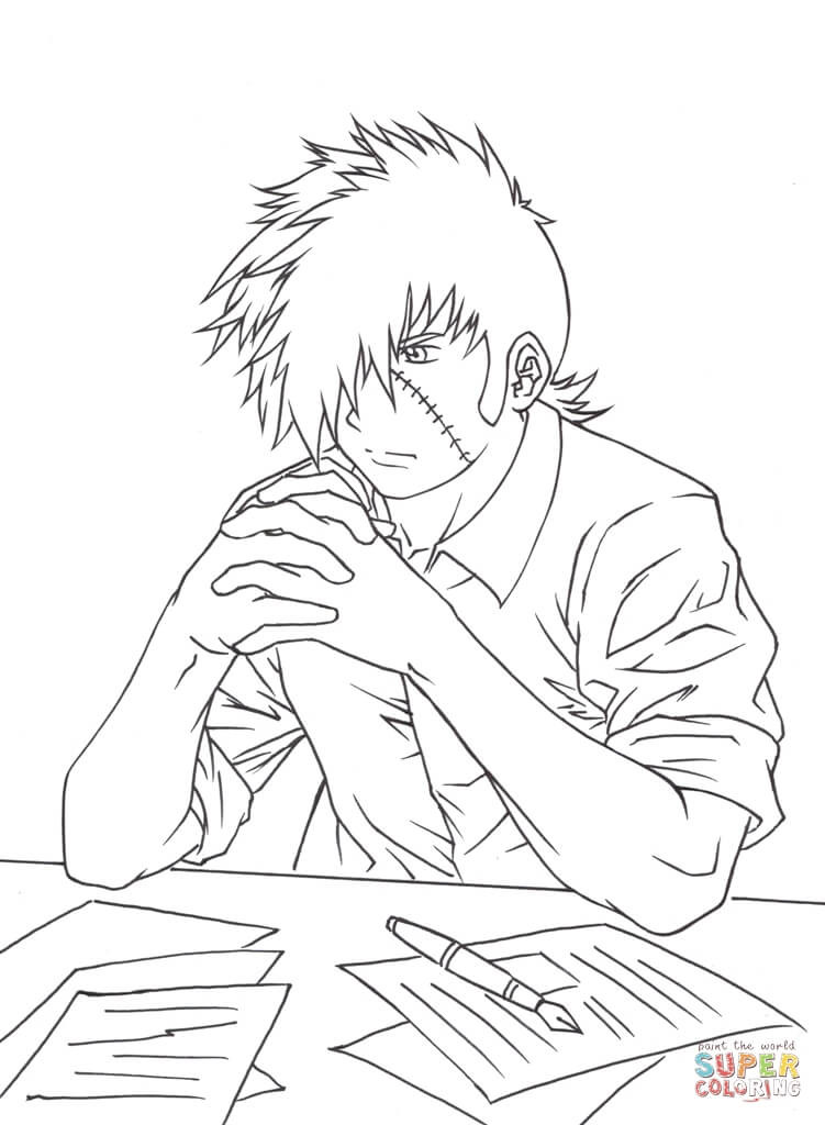 Tokyo Ghoul Ausmalbilder  Tokyo Ghoul Black And White Coloring Pages Coloring Pages