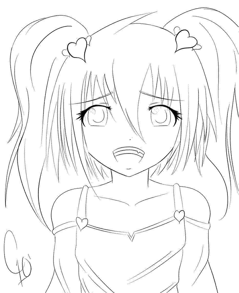 Tokyo Ghoul Ausmalbilder  line раскраска Аниме персонаж