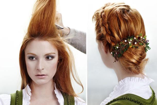 Flechtfrisuren Lange Haare Oktoberfest Trendige Frisuren Fur