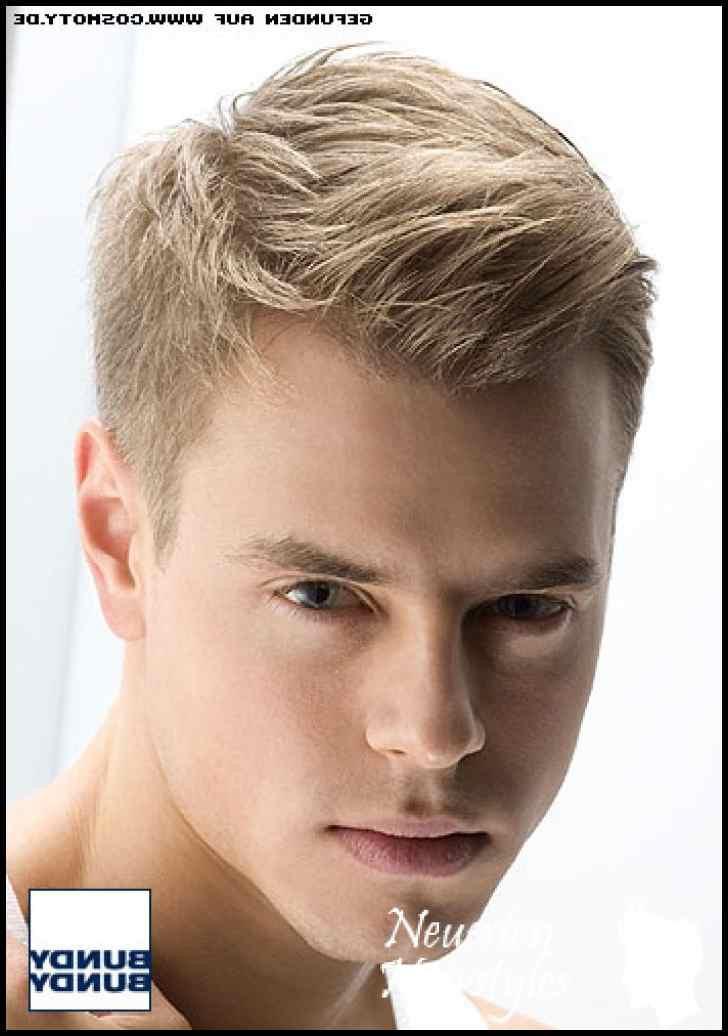 Trend Frisuren Männer 2019  Frisur Männer Blond Frisuren 2019