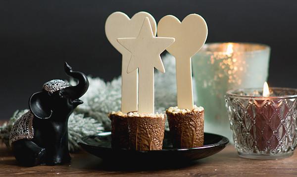 Trinkschokolade Am Stiel Diy  DIY Schokolade am Stiel Heisse Trinkschokolade