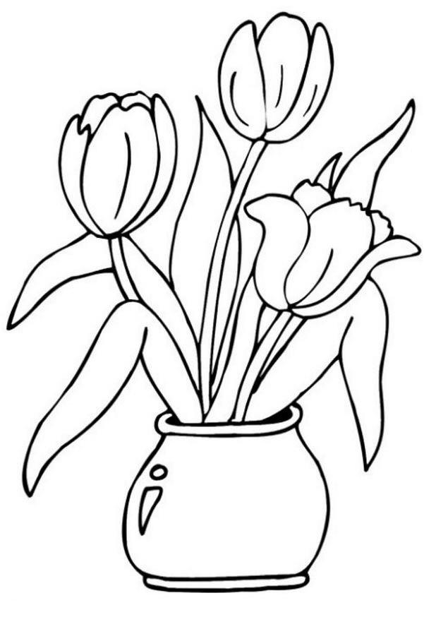 20 besten ideen tulpen ausmalbilder  beste wohnkultur