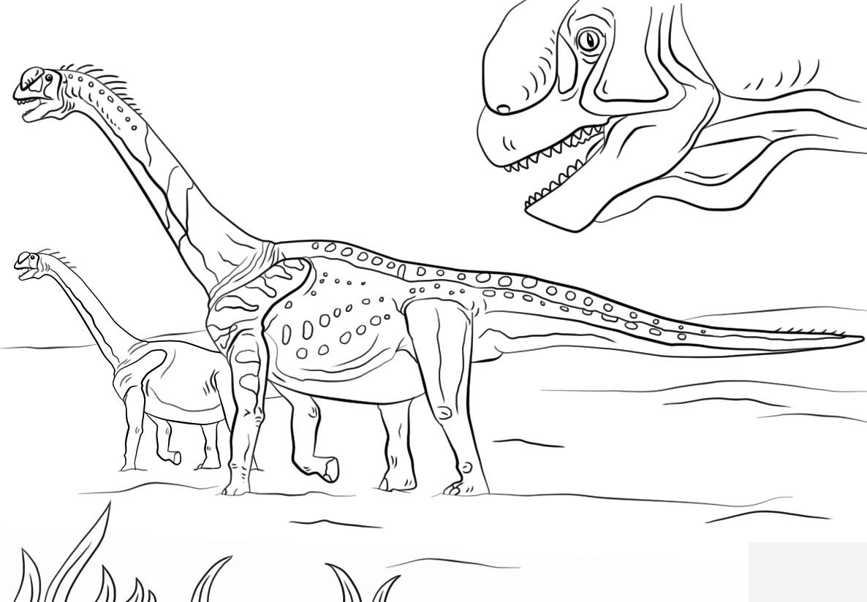 Tyrannosaurus Rex Ausmalbilder  Trex Ausmalbild Malvorlagentv