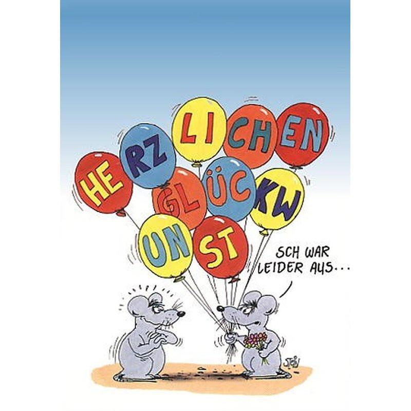 Uli Stein Geburtstagsbilder  Uli Stein GeburtstagsPOSTkarte Glückwunst