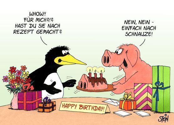 Uli Stein Geburtstagsbilder  Witzige geburtstagsbilder Beste Geburtstagsbilder