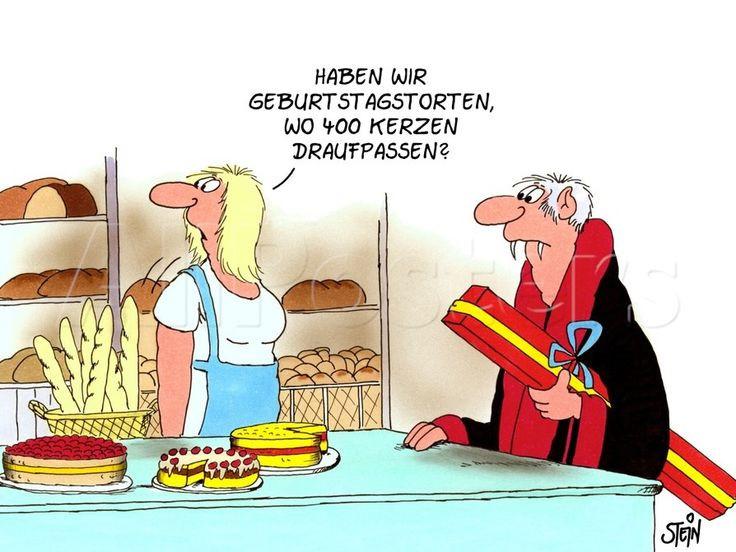 Uli Stein Geburtstagsbilder  400 KERZEN Uli Stein Pinterest