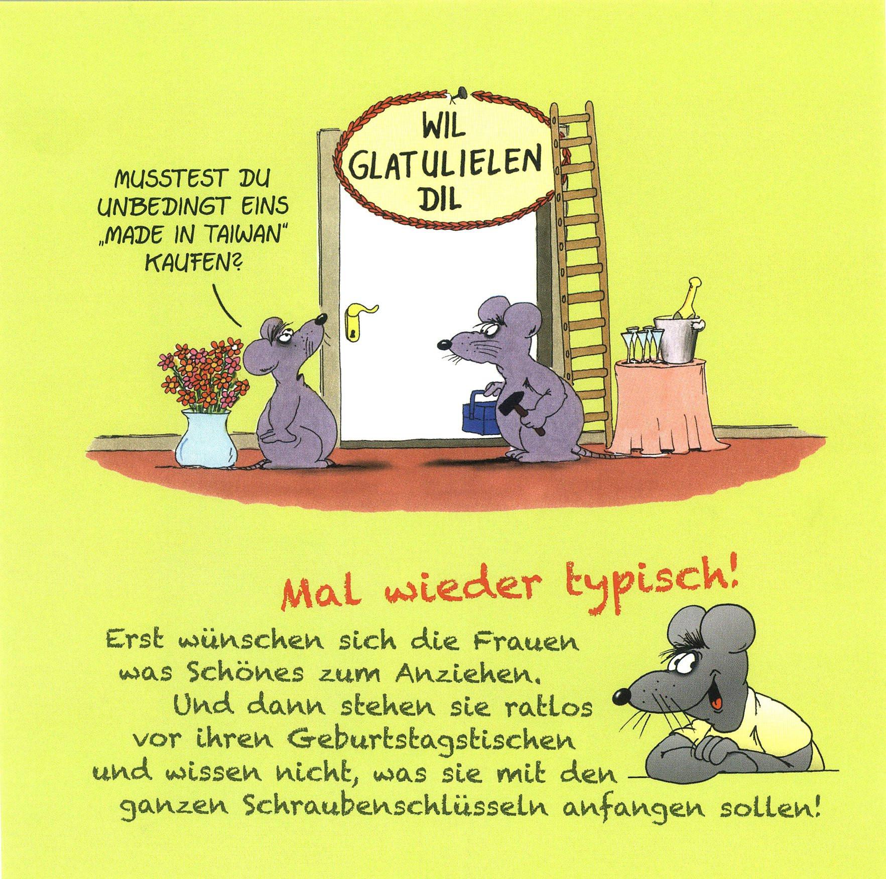 Uli Stein Geburtstagsbilder  Herzlichen Glückwunsch zum Geburtstag Buch Weltbild