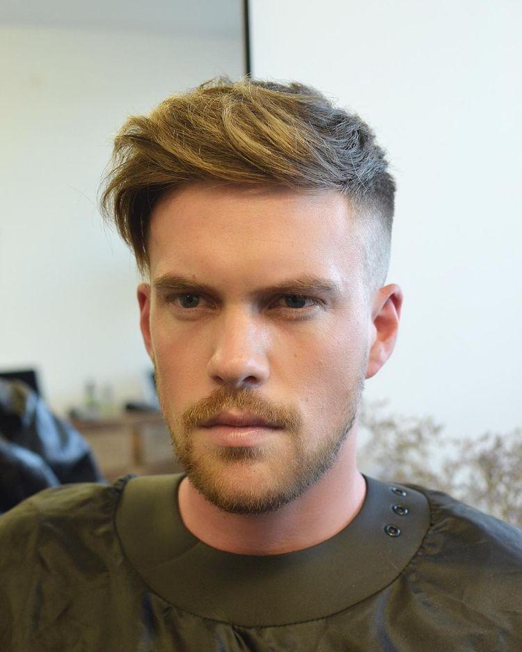 Undercut Frisuren Männer  Undercut Männer Trendfrisur facettenreich wandelbar und