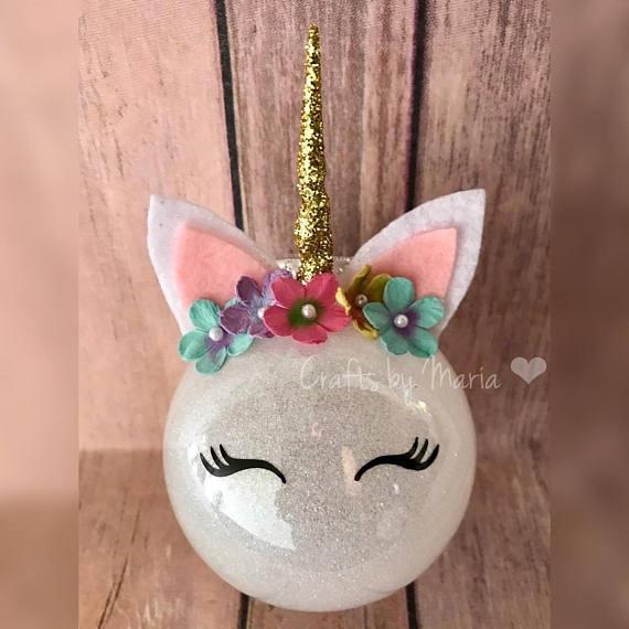 Unicorn Diy  DIY Unicorn Ornaments Crafty Morning