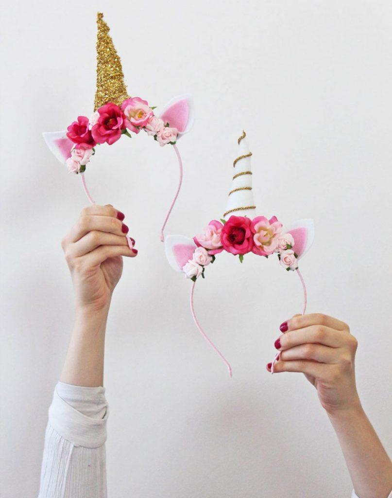 Unicorn Diy  17 unicorn party ideas Lolly Jane