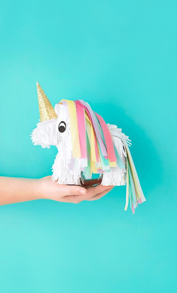 Unicorn Diy  DIY Unicorn Pinatas • A Subtle Revelry