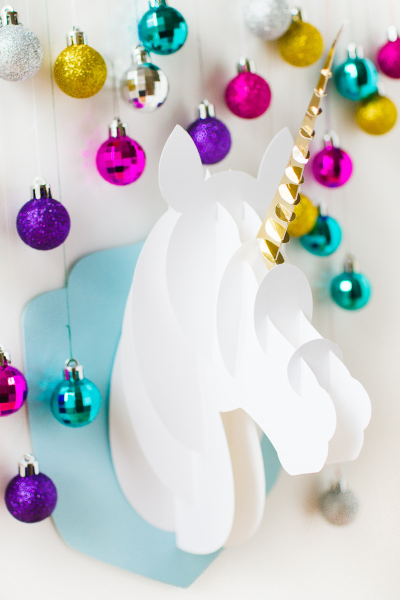 Unicorn Diy  DIY 3D PAPERCRAFT UNICORN HEAD