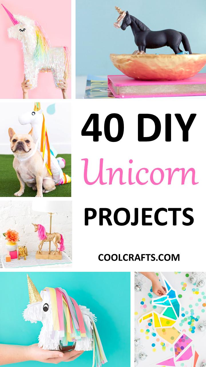 Unicorn Diy  40 Majestic DIY Unicorn Craft Ideas • Cool Crafts