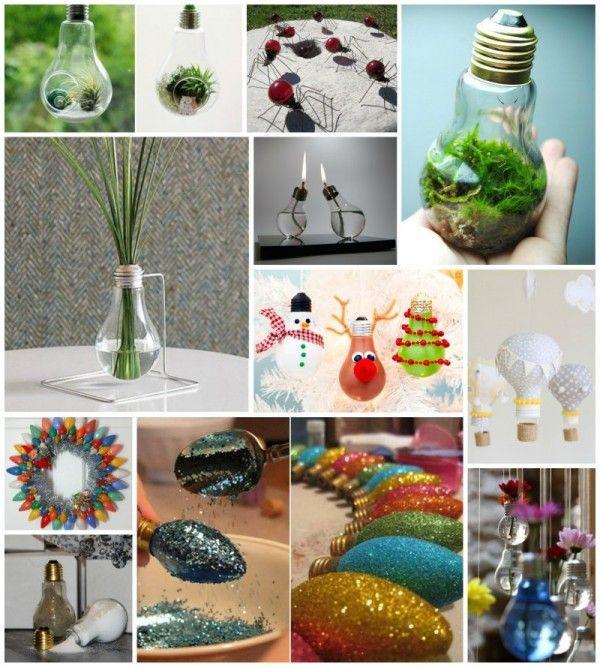 Upcycling Diy  30 Beautiful DIY Ways to Upcycle Lightbulbs