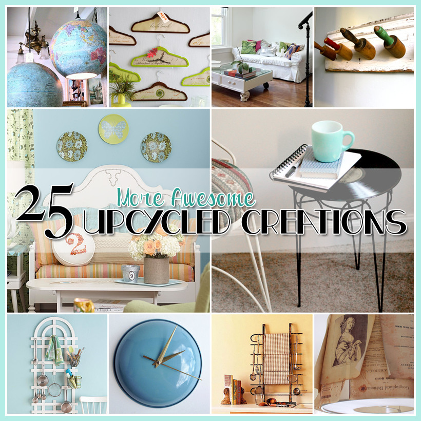 Upcycling Diy  25 MORE Awesome Upcycled DIY Projects The Cottage Market