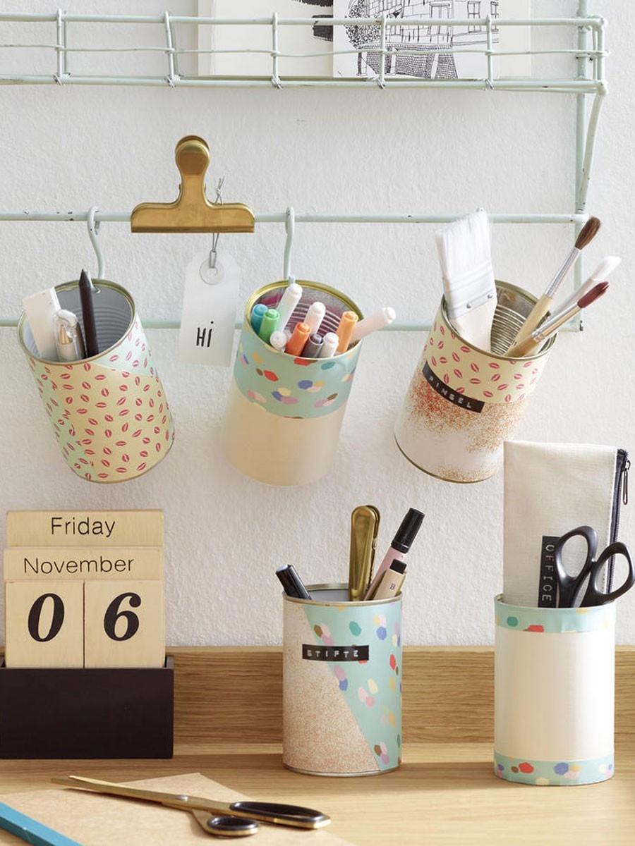 Upcycling Diy  4 einfache DIY Ideen Upcycling mit Konservendosen