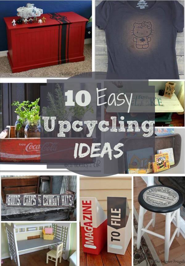 Upcycling Diy  10 DIY Cool Upcycling Ideas