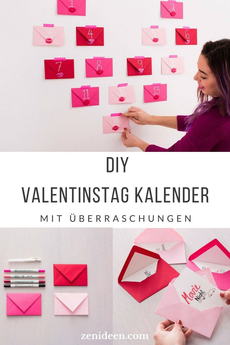 Valentinstag Diy  230 romantische Ideen TOP 14 Geschenke zum Valentinstag