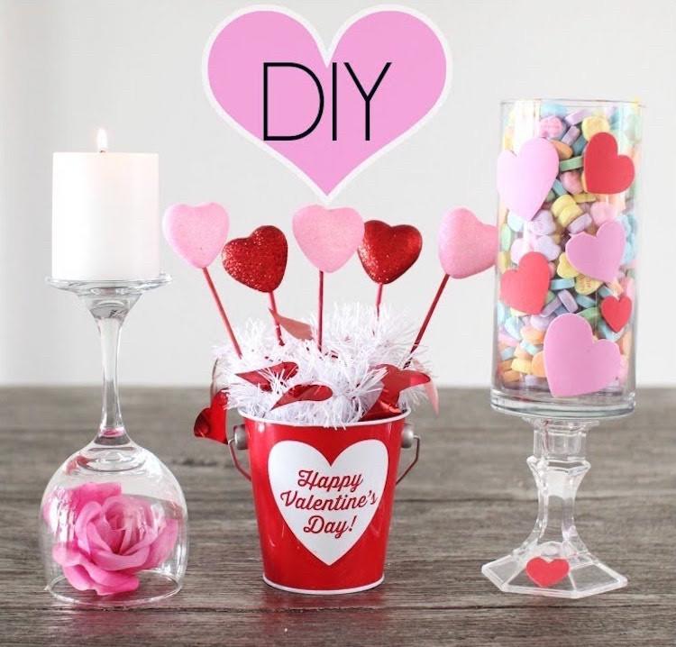 Valentinstag Diy  35 Valentinstag Ideen für Dekoration man einfach