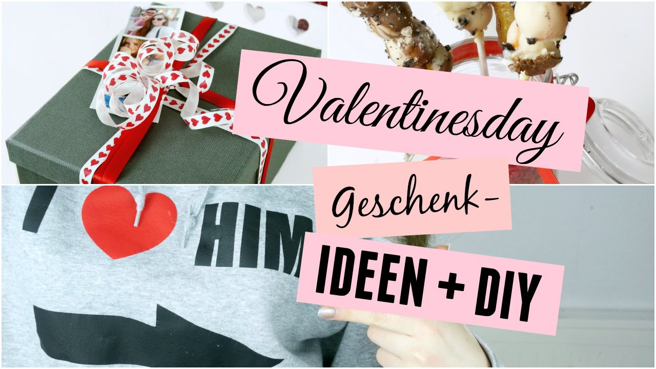 Valentinstag Diy  Valentinstag Geschenk Ideen DIY