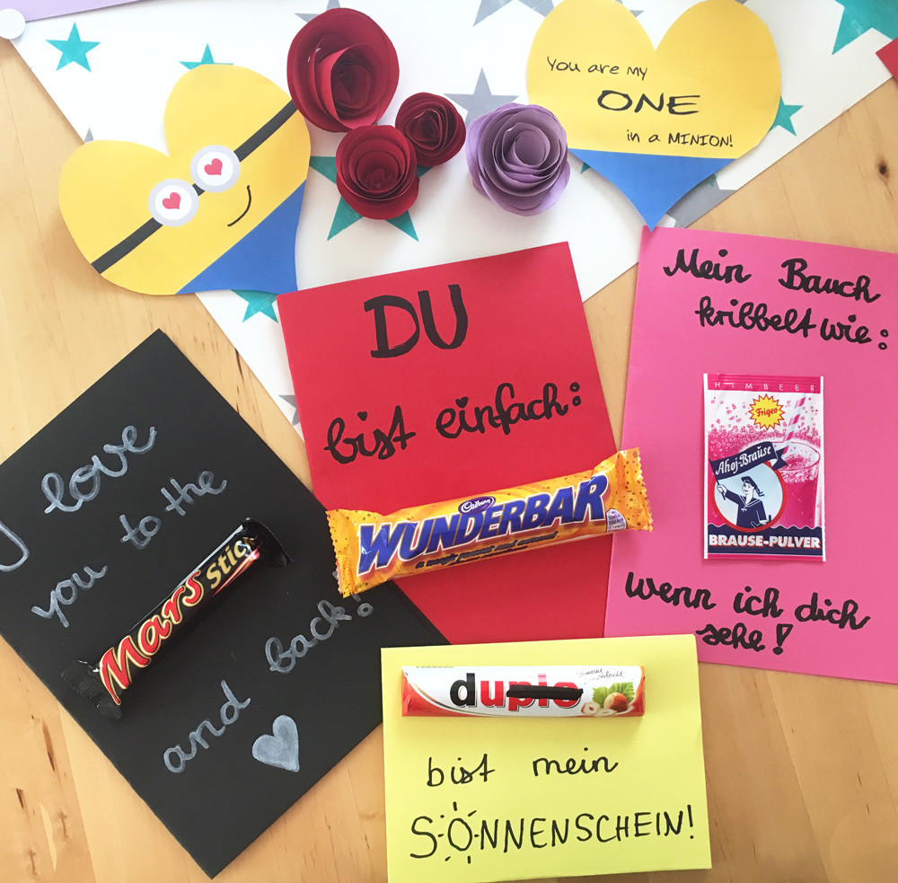 Valentinstag Geschenk Diy  Die besten DIY Ideen zum Valentinstag Mom´s Blog der