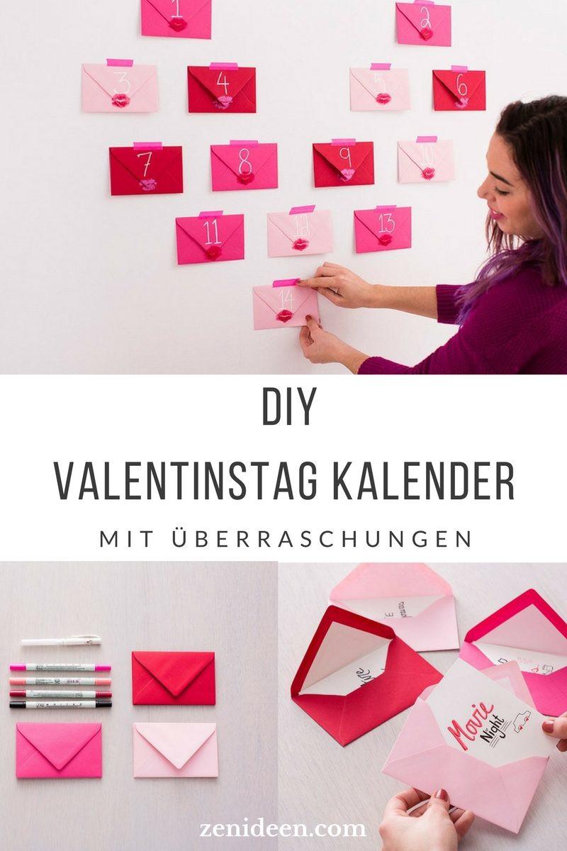 Valentinstag Geschenk Diy  230 romantische Ideen TOP 14 Geschenke zum Valentinstag