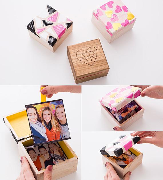 Valentinstag Geschenke Für Freundin  3 selbstgemachte Geschenke auch als Geschenkideen zum
