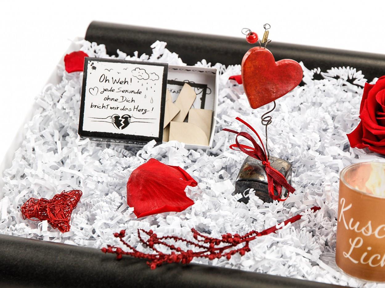 Valentinstag Geschenke Für Freundin  liebesbox geschenkset valentinstag geschenk freundin