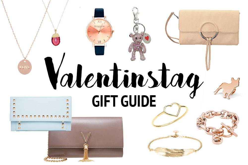 Valentinstag Geschenke Für Freundin  Gift Guide Valentinstag Geschenke für Freundin