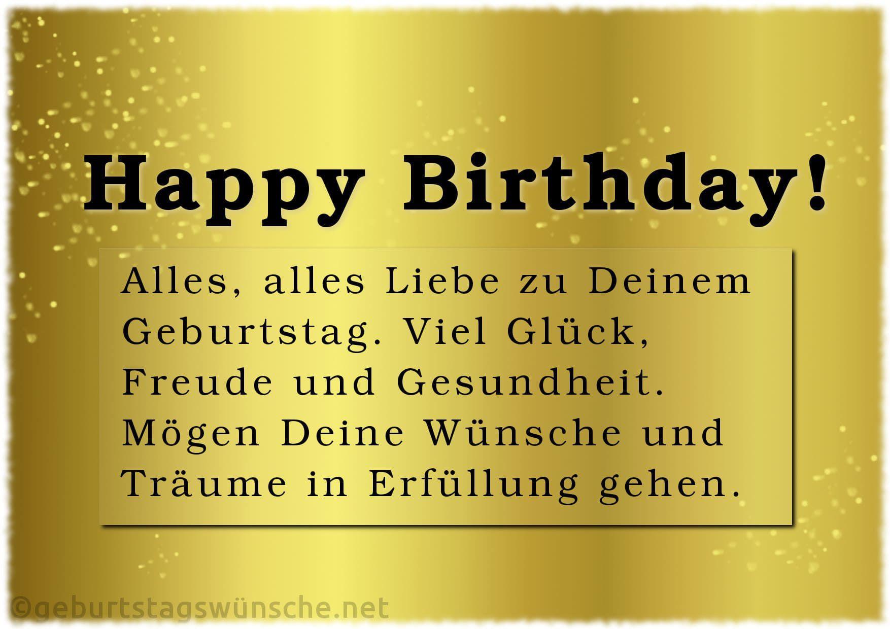 Versaute Geburtstagswünsche  Wir Wünschen Dir Alles Gute Zum Geburtstag Und Viel