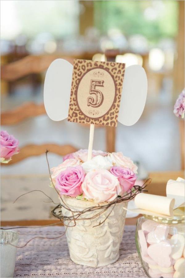 Vintage Hochzeit Ideen  Vintage Tischdeko zur Hochzeit 100 faszinierende Ideen