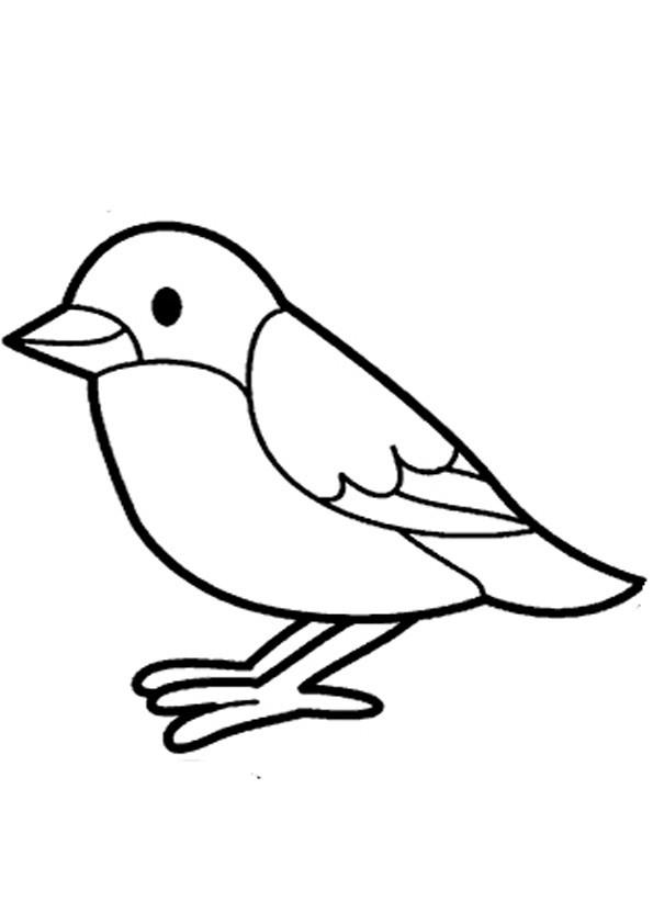 Vögel Ausmalbilder  Vögel ausmalbilder 07