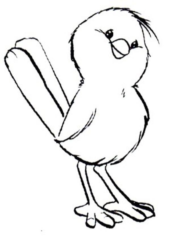 Vögel Ausmalbilder  Vögel ausmalbilder 10