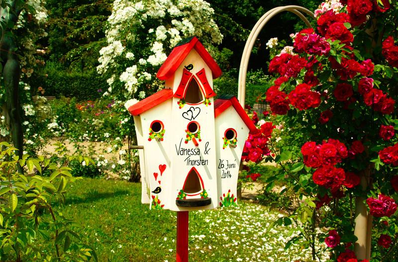 Vogelhaus Hochzeit  Weiteres Vogelhaus Hochzeit Hochzeit Geldgeschenk ein